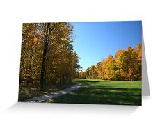 Colour Me Fall Colours! Greeting Card