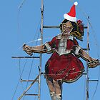 Richmond - Festive Skipping Girl by Maureen Keogh