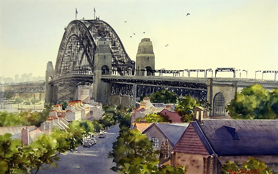 The Rocks, Sydney by Joe Cartwright