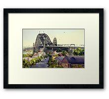 The Rocks, Sydney Framed Print