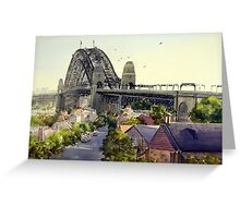 The Rocks, Sydney Greeting Card