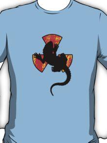 Radioactive Gecko Cool T-Shirt Design T-Shirt