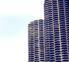 Honey Comb Towers by cfromchicago