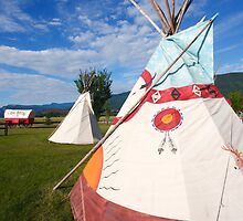 Teepees by zumi