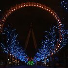 London Eye Night by Ken Scarboro