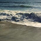 Ocean waves at Assategue Island by DDLeach