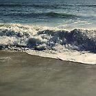 Ocean waves at Assategue Island by DDLeach