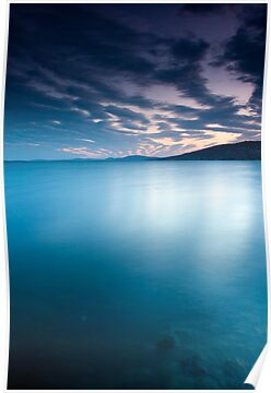 Big blue - Derwent River by lee Henley