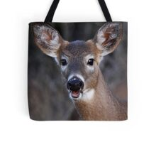 Well hello there! - White-tailed Deer Tote Bag