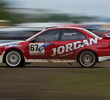 Evo Rally Car at Chatsworth Rally by James Grant