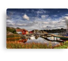 Swedish summer Canvas Print