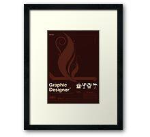 Graphic Designer Framed Print