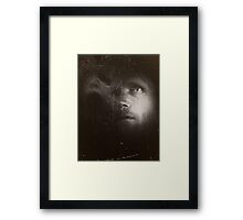 Haunted By Demon's From The Past Framed Print