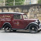 Austin 7 Newspaper Van by Edward Denyer