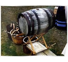The Old Beer Barrel Poster
