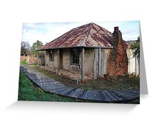 Beyer's Cottage - Hill End NSW Australia Greeting Card
