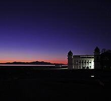 Sunset at Great Salt Lake by tc5953