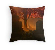 Samhain's Fire Throw Pillow