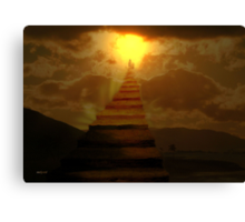 Stairway to Paradise... Canvas Print