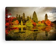 Autumn colours, Sheffield Park Canvas Print