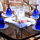 Al Fresco and Blue Glass (SMALLTOWN USA series) by ctheworld