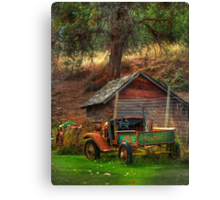Old Fords never die, they just become picturesque Canvas Print