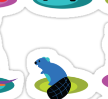 the zoo Sticker