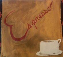 Espresso anyone? by Suzanne Burke