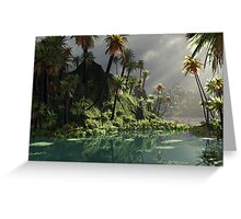 Through The Monsoon Greeting Card