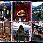 Salamanca Markets montage by Odille Esmonde-Morgan