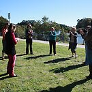 Throsby Creek Laughter Club by Cathie Brooker