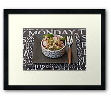 Lunch?  Framed Print