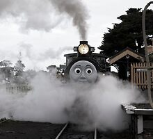 Thomas The Tank - Queenscliff by Graeme Buckland