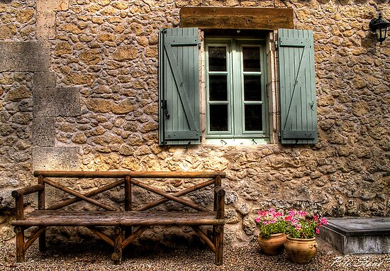 French Country Cottage By Pete Stone Redbubble