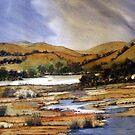 Outside Canberra, ACT, Australia by Angela Gannicott