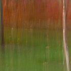 Autumn Saplings by Lynn Wiles