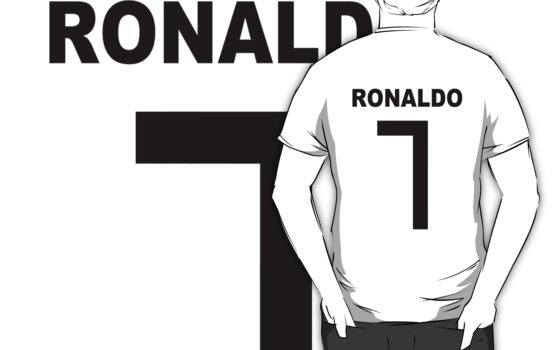 Ronaldo black font by SW7 Design