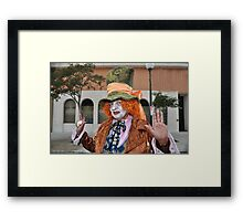 "I'll be seeing you "" Framed Print"