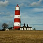 Happisburgh Lighthouse by BizziLizzy