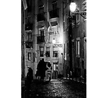 Little dark street Photographic Print