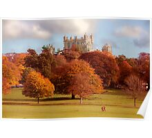 Wollaton Hall and Deer Park Nottingham Poster