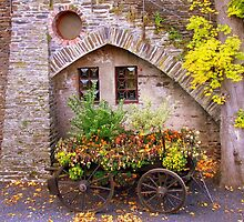 The Flower Cart by Gayle Dolinger
