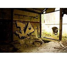Tagged - Cocking Abandoned Limeworks Photographic Print