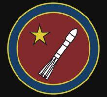 Kosmos - Soviet-style logo by DanielRomero