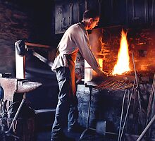 Blacksmith in Killarney, Co Kerry, Ireland by John Walsh, IRELAND