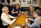 Game of dominoes in English pub, 1985 by David A. L. Davies
