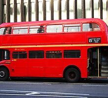 London Bus by Susan Leonard