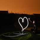 i ♥ light painting by Tom Smart