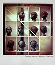 Heads Polaroïd by Laurent Hunziker