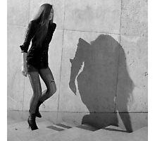 Paris - Fashion victim. Photographic Print